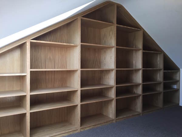 Beautiful Bookcase bespoke bookcase berkshire joiner