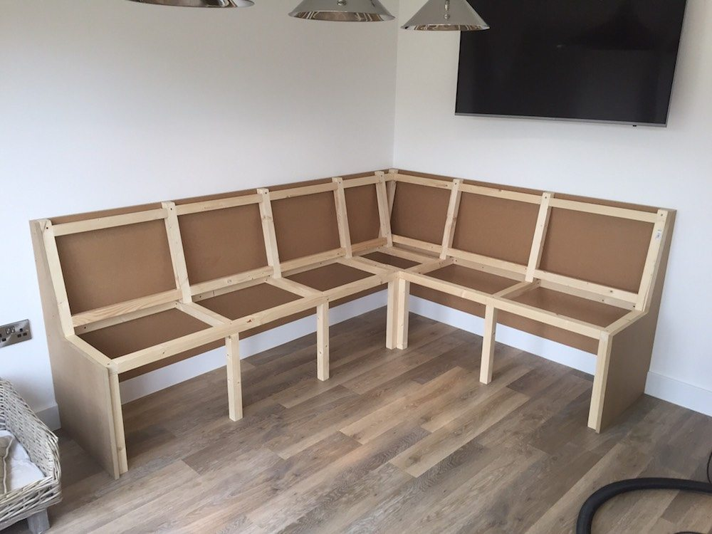 Corner Seating Carpentry By Craig Ross