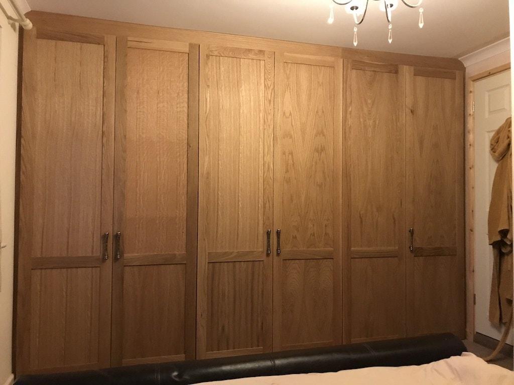 Double sized oak wardrobe - Carpentry by Craig Ross