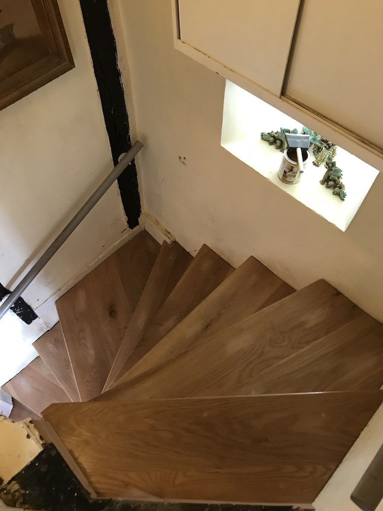 18th Century Oak Staircase Refurbishment
