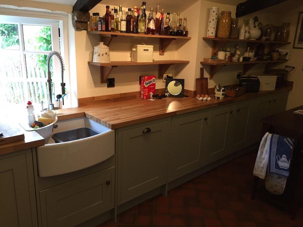Bespoke Kitchen Matching Howdens Doors